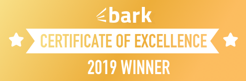 Bark Certificate of Excellence 2019 Winner